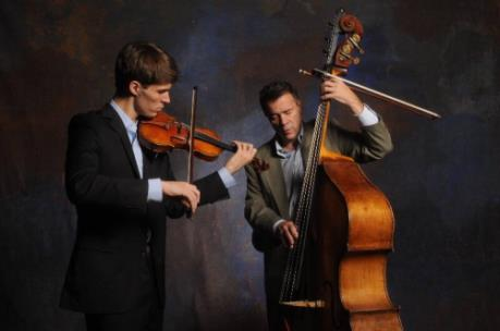 George and Edgar Meyer will perform at String Theory at the Hunter Museum Tuesday