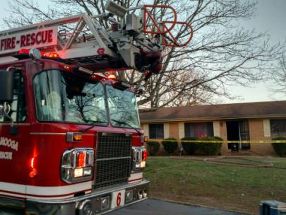 Family Of 5 Displaced After Fire Damages Home Late Friday Afternoon
