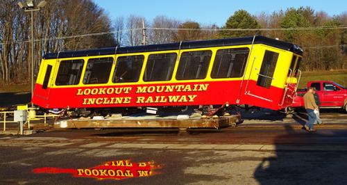 The Lookout Mountain Incline Railway will reopen on Thursday, March 19, at noon after two and a half months of closure for scheduled maintenance and preparations for the delivery of the new Incline cars