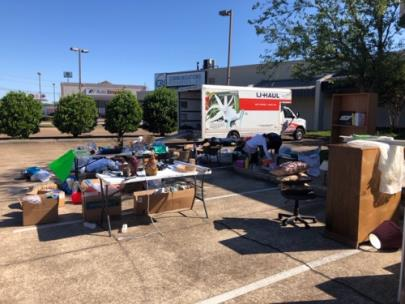 RE/MAX Properties donated home goods to those affected by the recent tornadoes