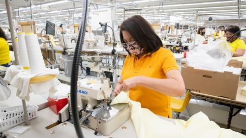 Six Beehive Clothing plants owned and operated by The Church of Jesus Christ of Latter-day Saints in Mexico, Paraguay, Brazil, the Philippines, Salt Lake City and American Fork, Utah have shifted production to make cloth face masks and surgical gowns for healthcare workers