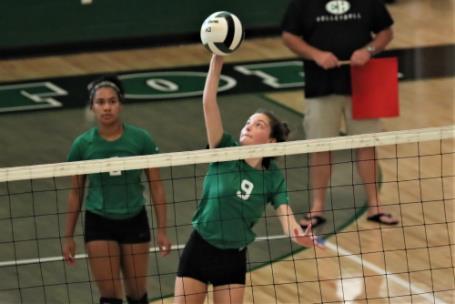 PHOTOS: Hixson Volleyball Visits Hurricane Hill