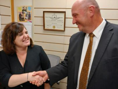 Chattanooga Funeral Home's Kara Reno Is Now A Licensed Funeral Home Director; Her Dad Told Her Of Mortuary Opening