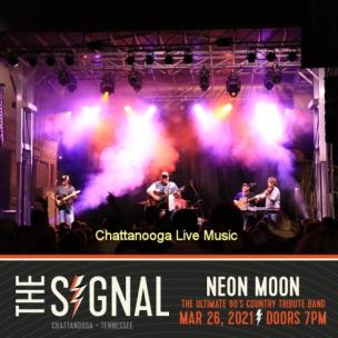 Neon Moon: The Ultimate 90's Country Tribute Band will play at The Signal Friday at 8 p.m.