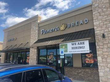 Panera opened its new eatery on Thursday in a new building on the outskirts of Northgate Mall fronting Highway 153. See story by John Shearer.