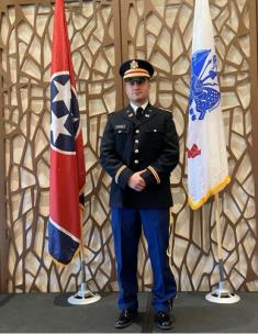 Chattanooga Guardsman Commissioned As A 2nd Lieutenant